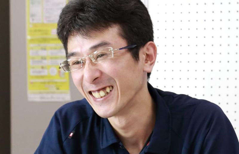 入社5年 センター長 後藤孝弘